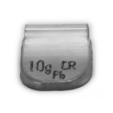 Грузик балансировочный A-010 для стальных дисков 10г (упаковка 100 шт.)
