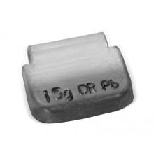 Грузик балансировочный A-15 для стальных дисков 15г (упаковка 100 шт.)