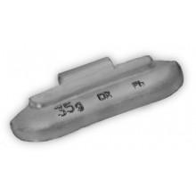 Грузик балансировочный A-35 для стальных дисков 35г (упаковка 50 шт.)