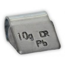 Грузик балансировочный B-010 для литых дисков 10г (упаковка 100 шт.)