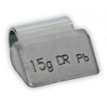 Грузик балансировочный B-15 для литых дисков 15г (упаковка 100 шт.)