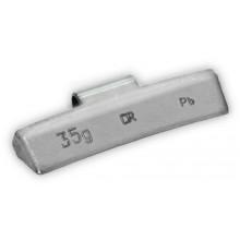 Грузик балансировочный B-35 для литых дисков 35г (упаковка 50 шт.)