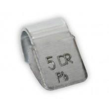Грузик балансировочный B-005 для литых дисков 5г (упаковка 100 шт.)