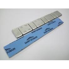 Грузик самоклеящийся стальной оцинкованный (50 полосок) GZ-0072 (упаковка 50 шт.)